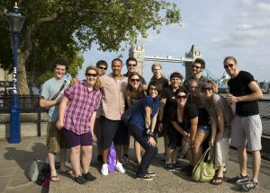 Gli studenti di Sprachdirekt durante le visite a Londra.